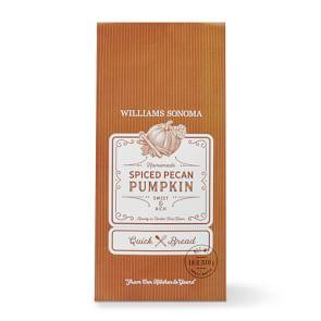 Williams Sonoma Spiced Pecan Pumpkin Quick Bread Mix