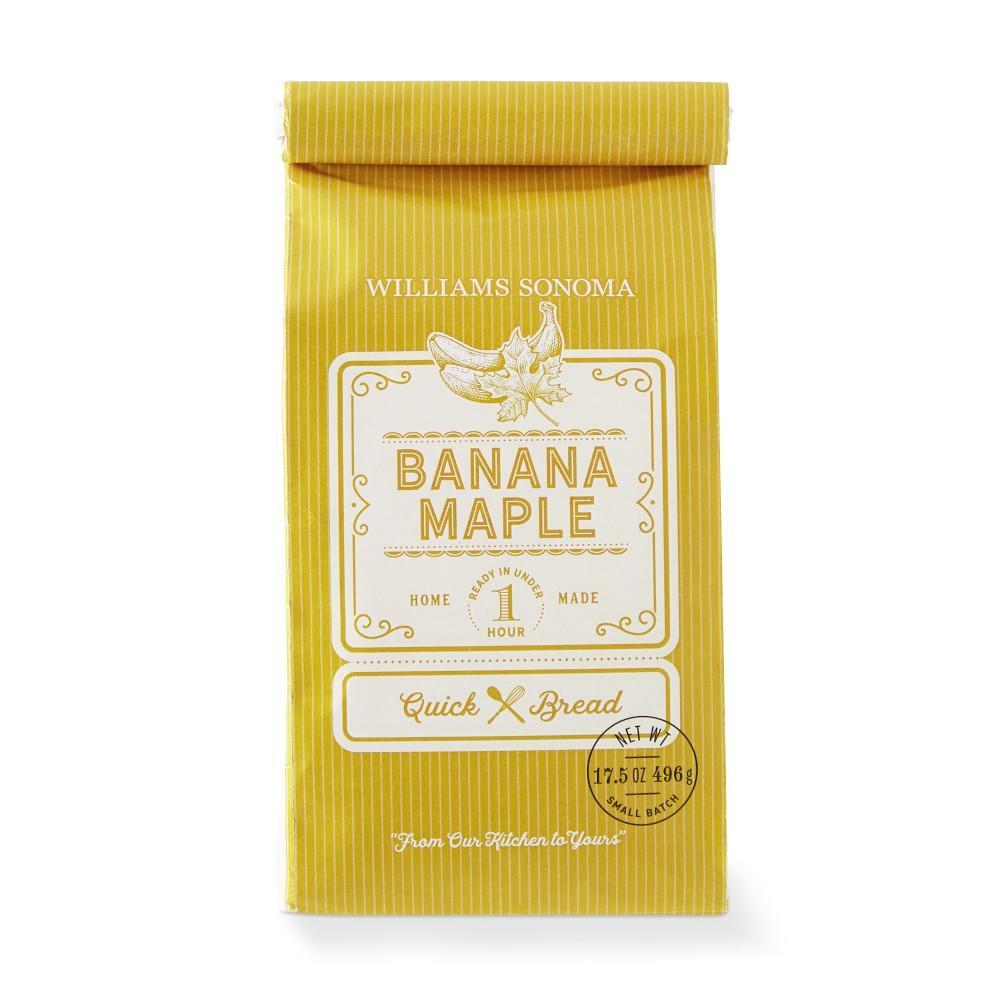 Williams Sonoma Banana Maple Quick Bread Mix