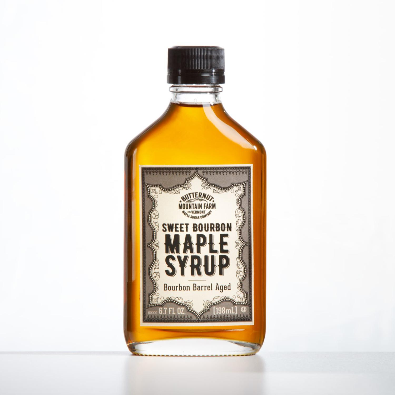Butternut Mountain Farm Sweet Bourbon Maple Syrup, 198ml