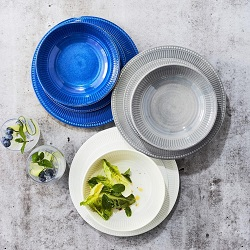 Pleated Outdoor Melamine Collection