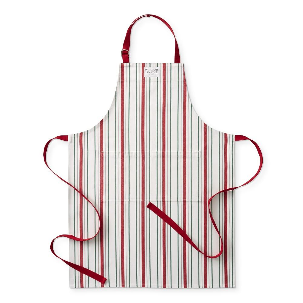 Christmas Stripe Adult Apron