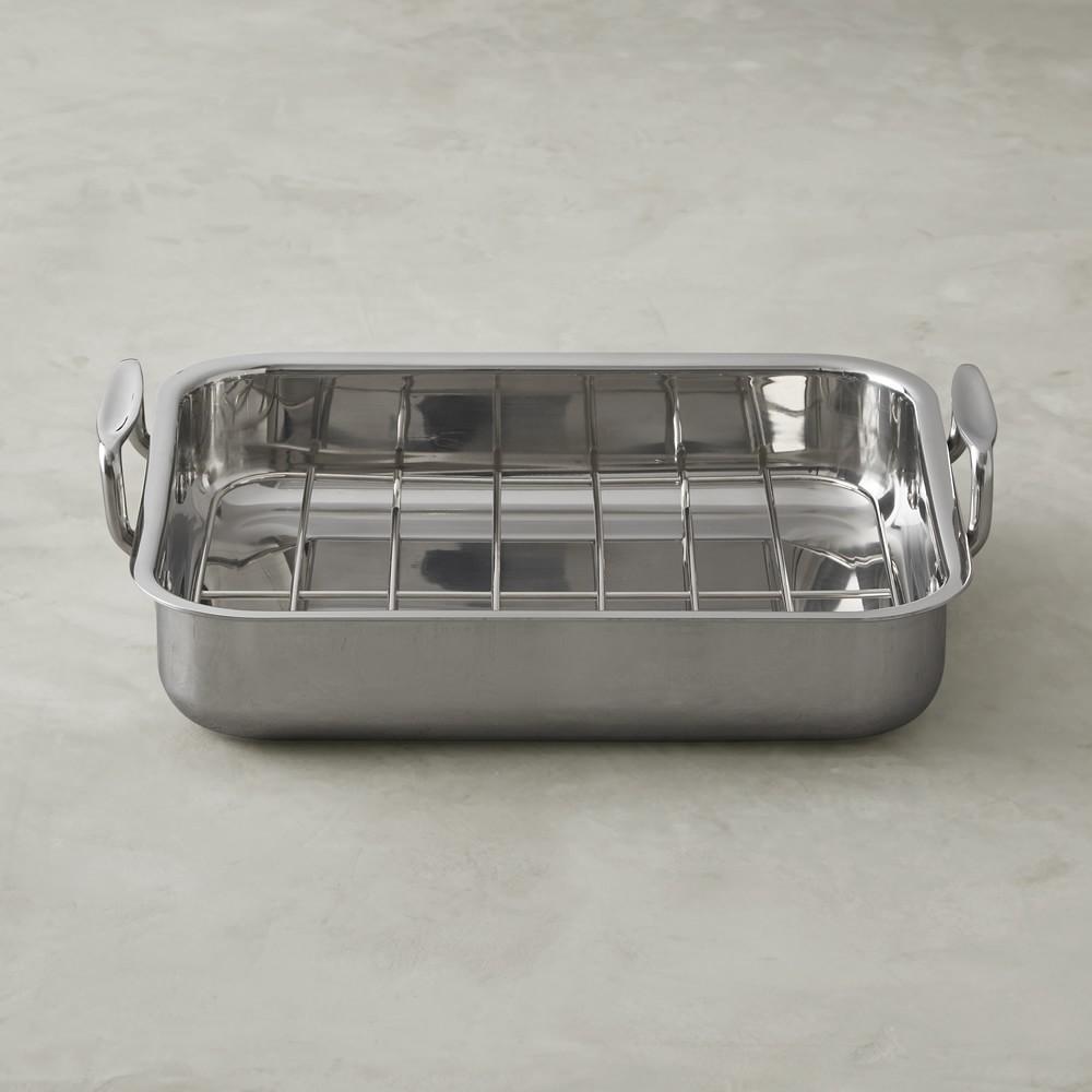 Williams Sonoma Stainless Steel Ultimate Roasting Pan