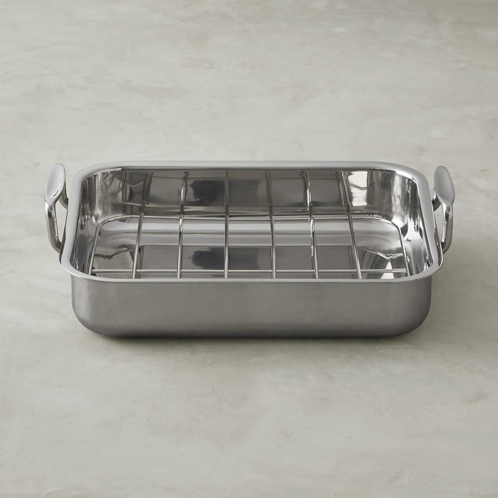 Williams Sonoma Stainless Steel Ultimate Roasting Pan