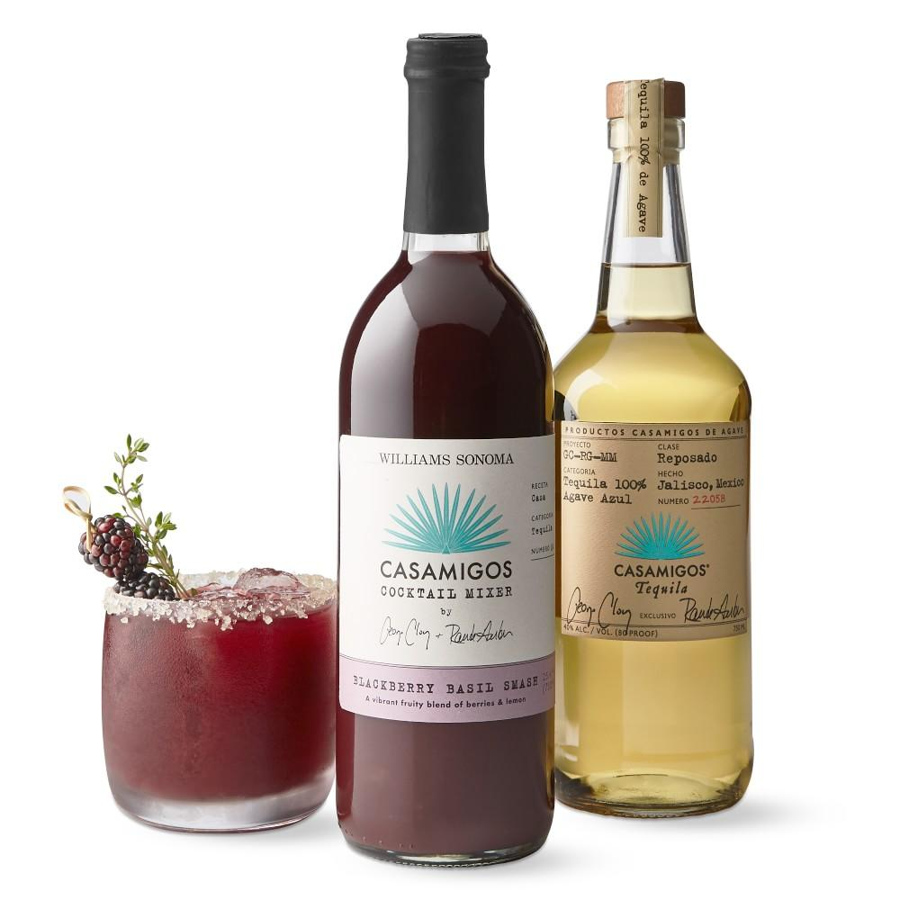 Casamigos Cocktail Mix, Blackberry Basil Smash