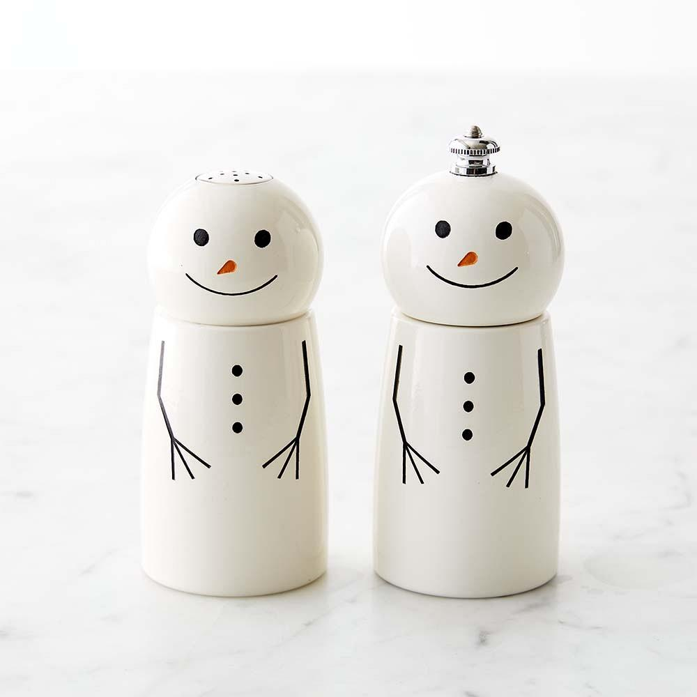 Snowman Salt & Pepper Set