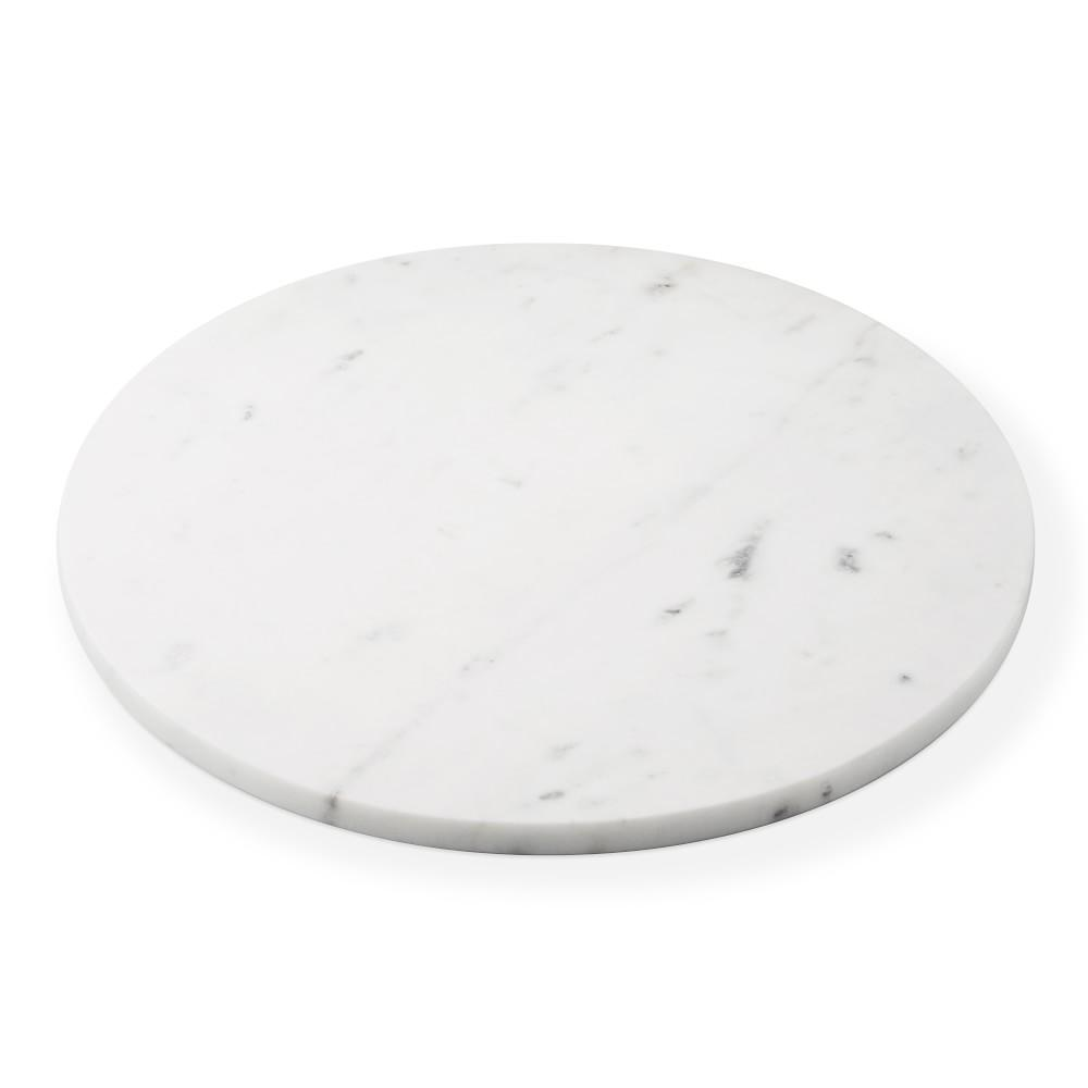 Round Marble Cheese Board, 38 cm