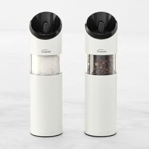 Graviti Salt & Pepper Mill Set, Matte White