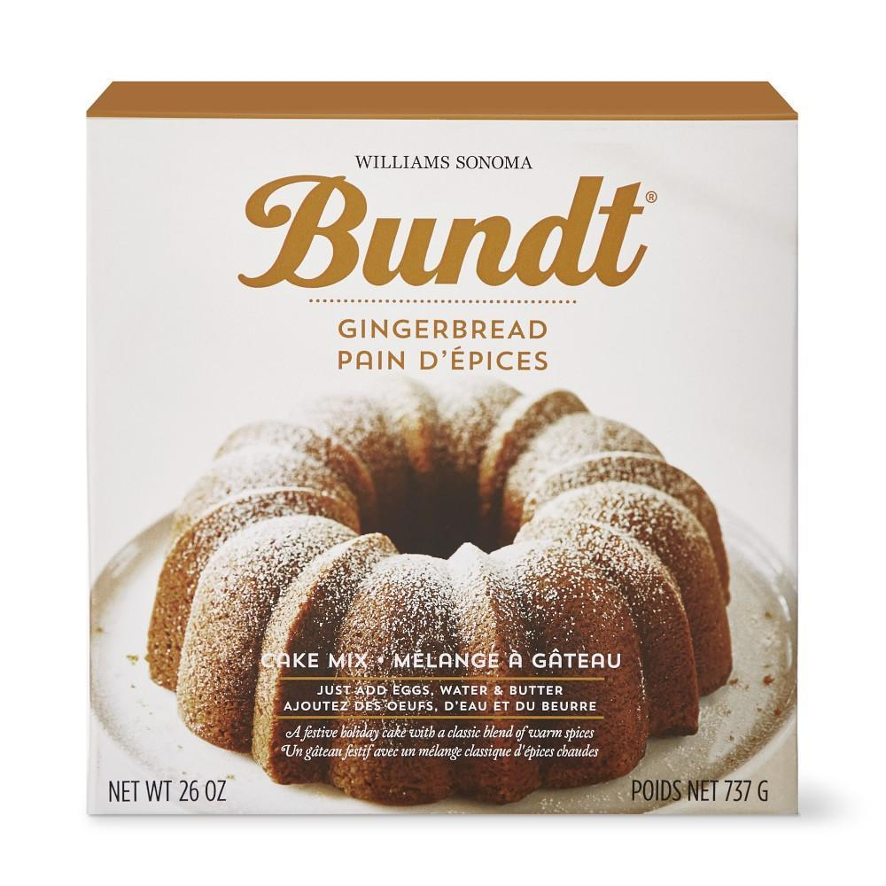 Gingerbread Bundt Mix