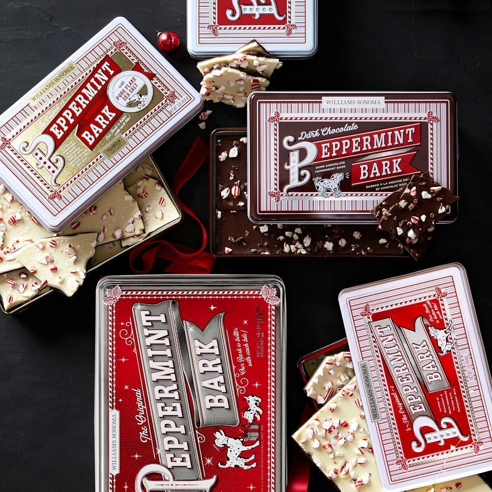 Williams Sonoma Dark Chocolate Peppermint Bark