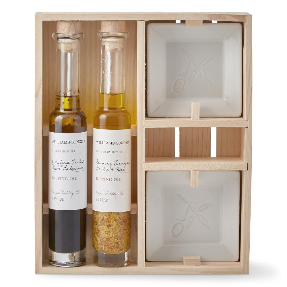 Williams Sonoma Dipping Oils Gift Set