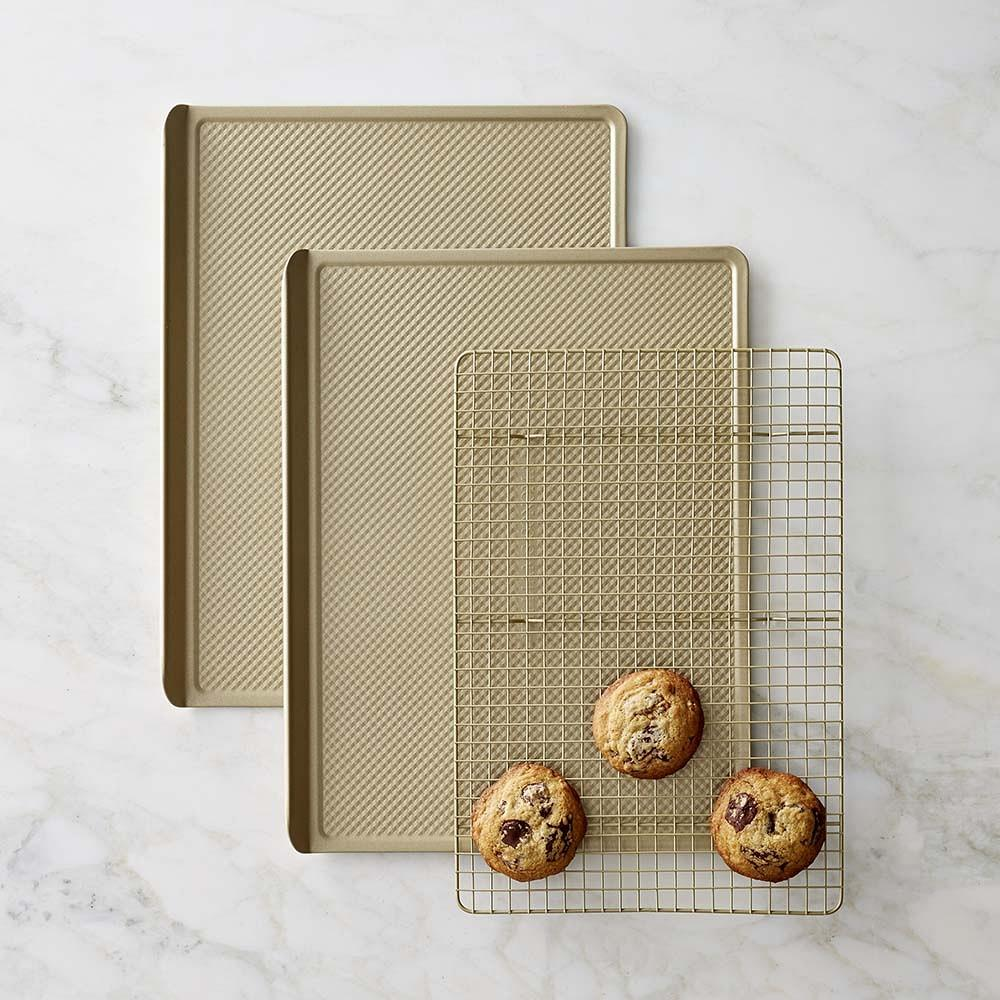 Williams Sonoma Goldtouch® Nonstick 3-Piece Cookie Bakeware