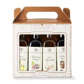 Sutter Buttes Infused Oil and Vinegar Gift Set