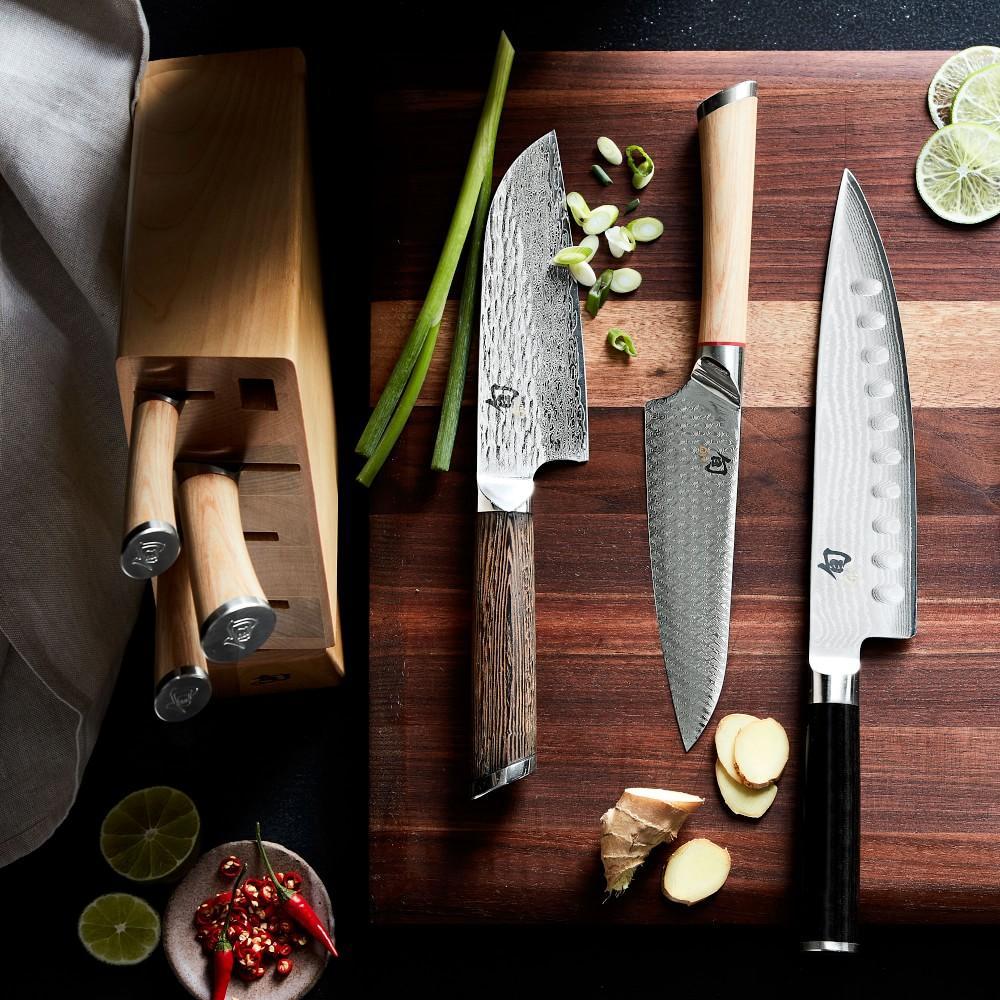 Shun Hikari 7-Piece Knife Block Set