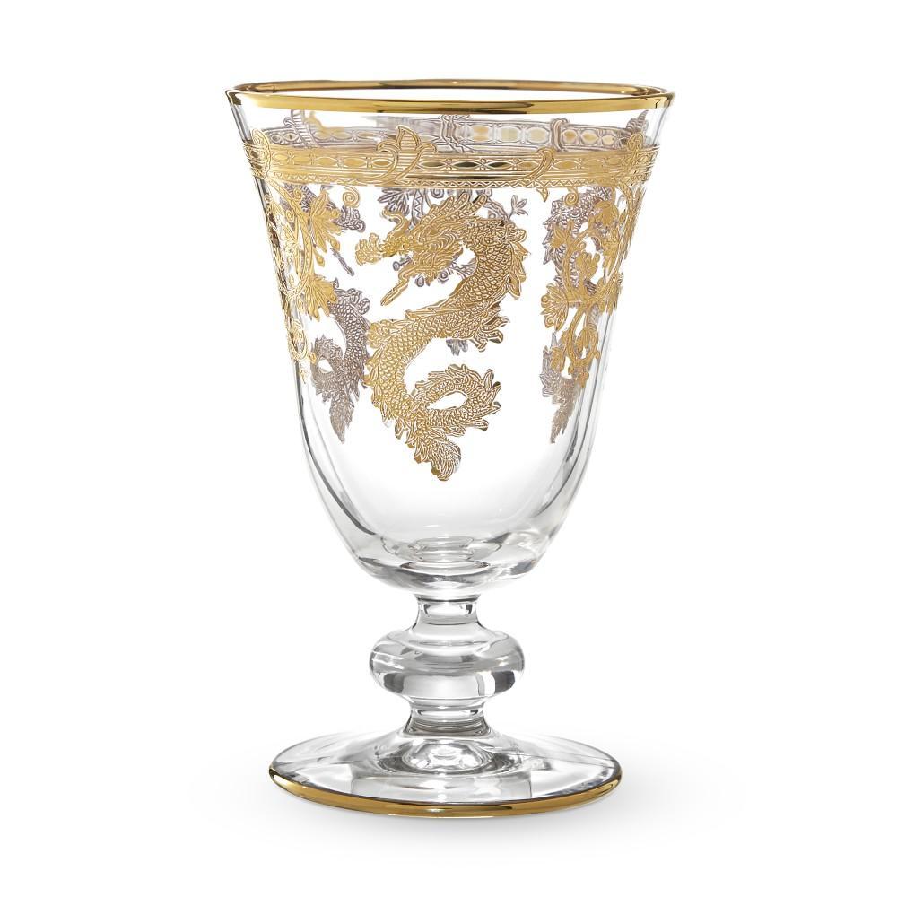 Gold Dragon Goblets