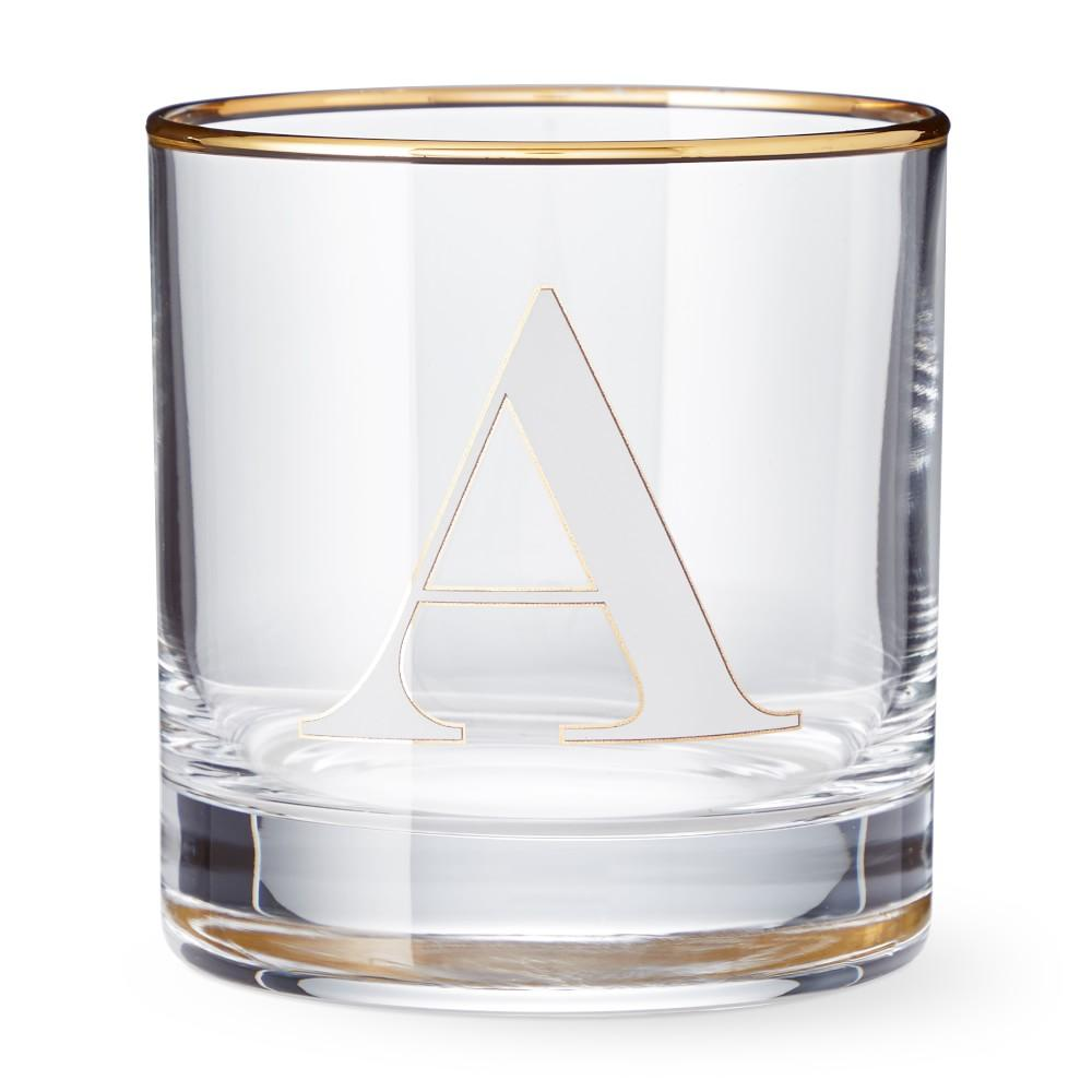 Monogram Double Old-Fashioned Glass