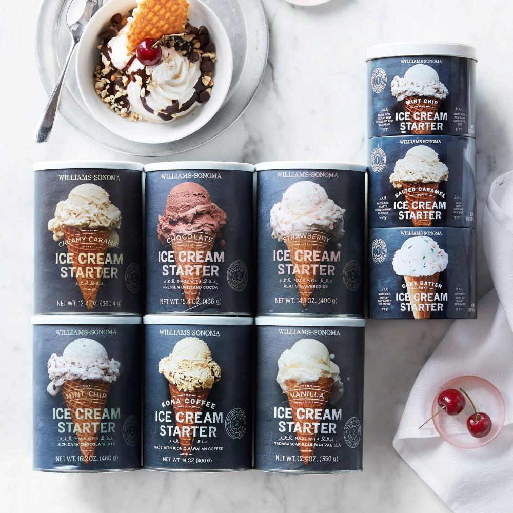 Williams Sonoma Strawberry Ice Cream Starter