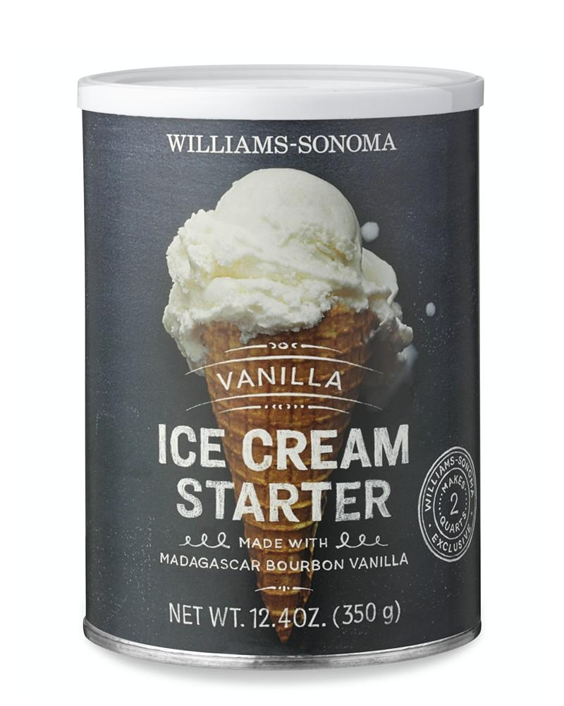 Williams Sonoma Vanilla Ice Cream Starter, Vanilla