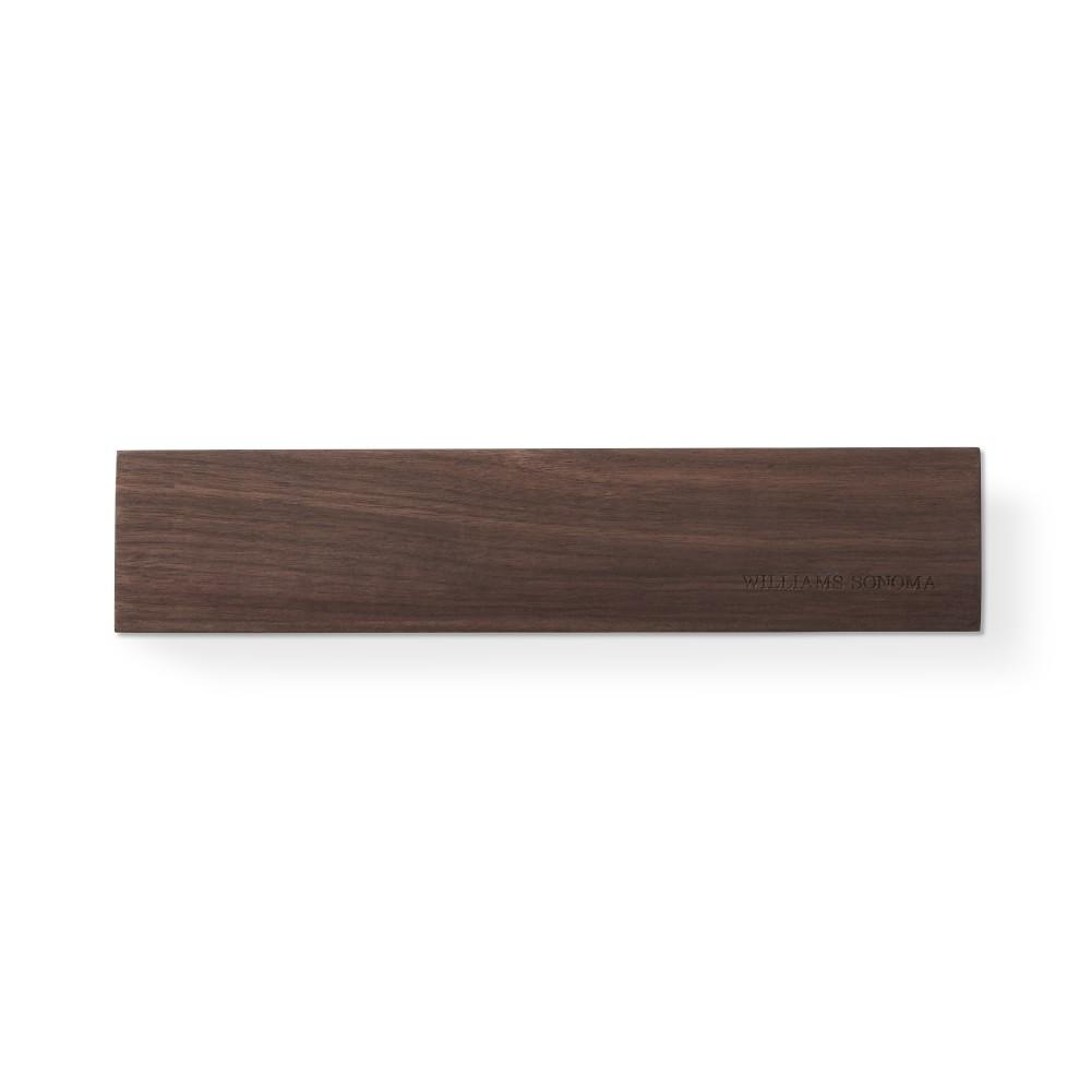 Williams Sonoma Wooden Magnetic Knife Bar, Walnut