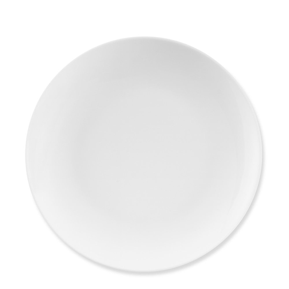 Pillivuyt Coupe Porcelain Salad Plate