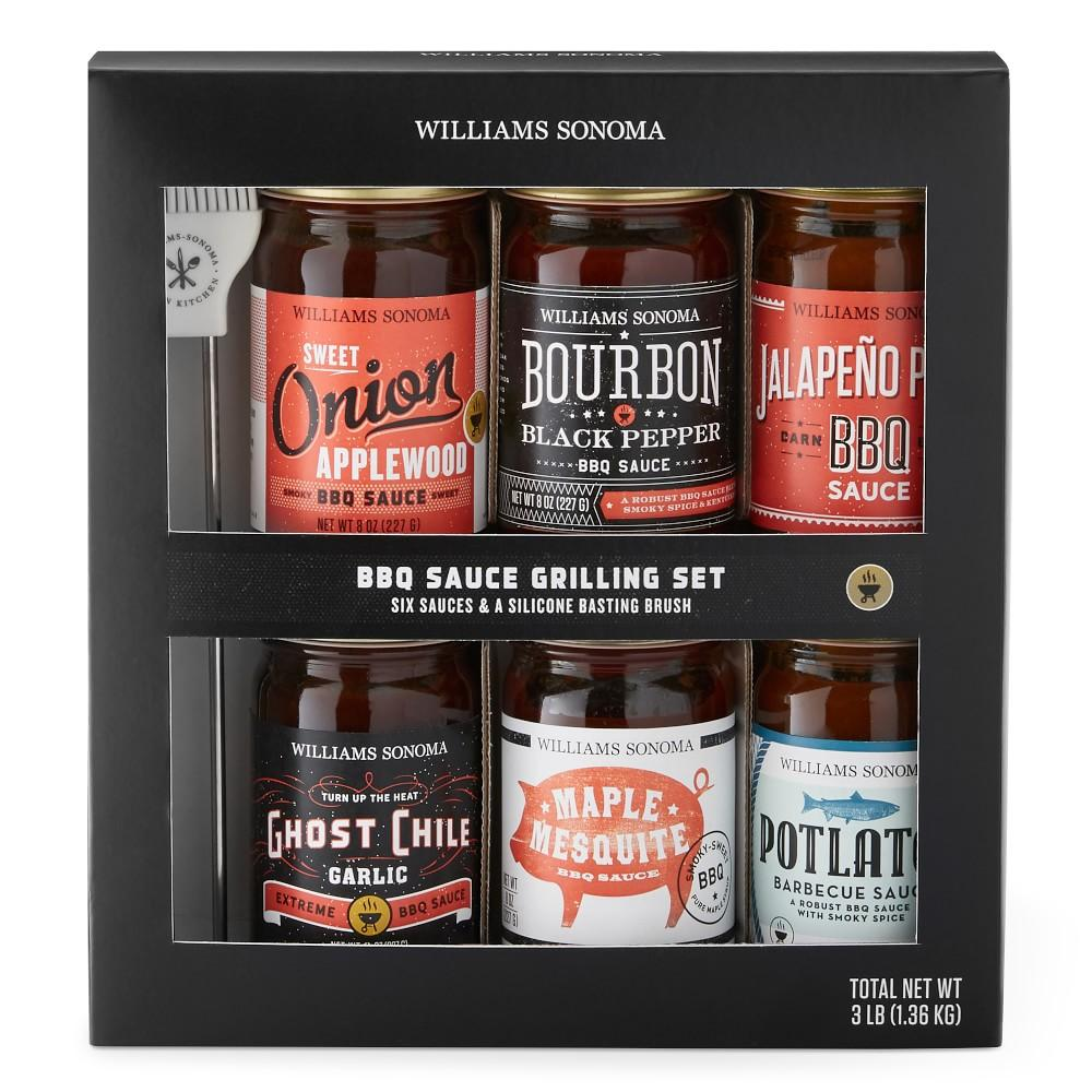 Williams Sonoma Mini BBQ Sauces, Set of 6