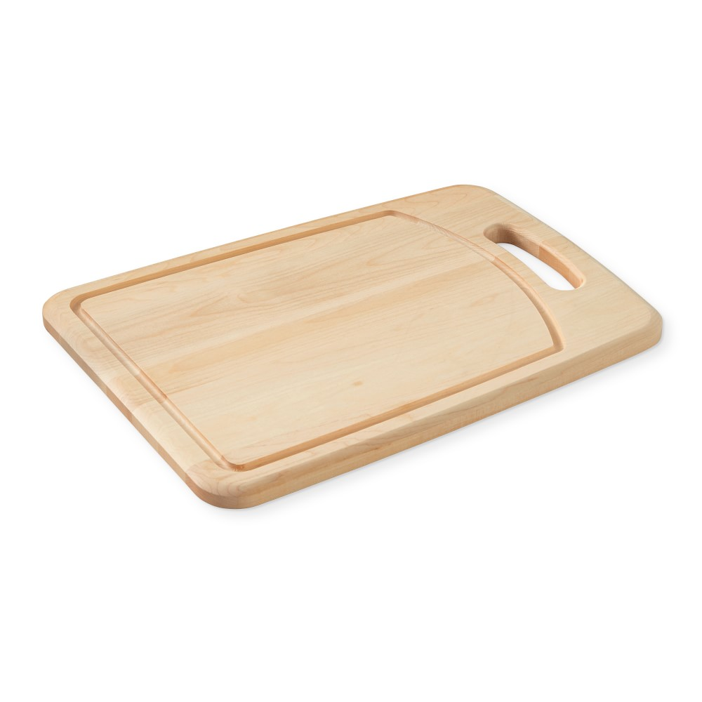 Williams Sonoma Maple Handled Prep Cutting Board