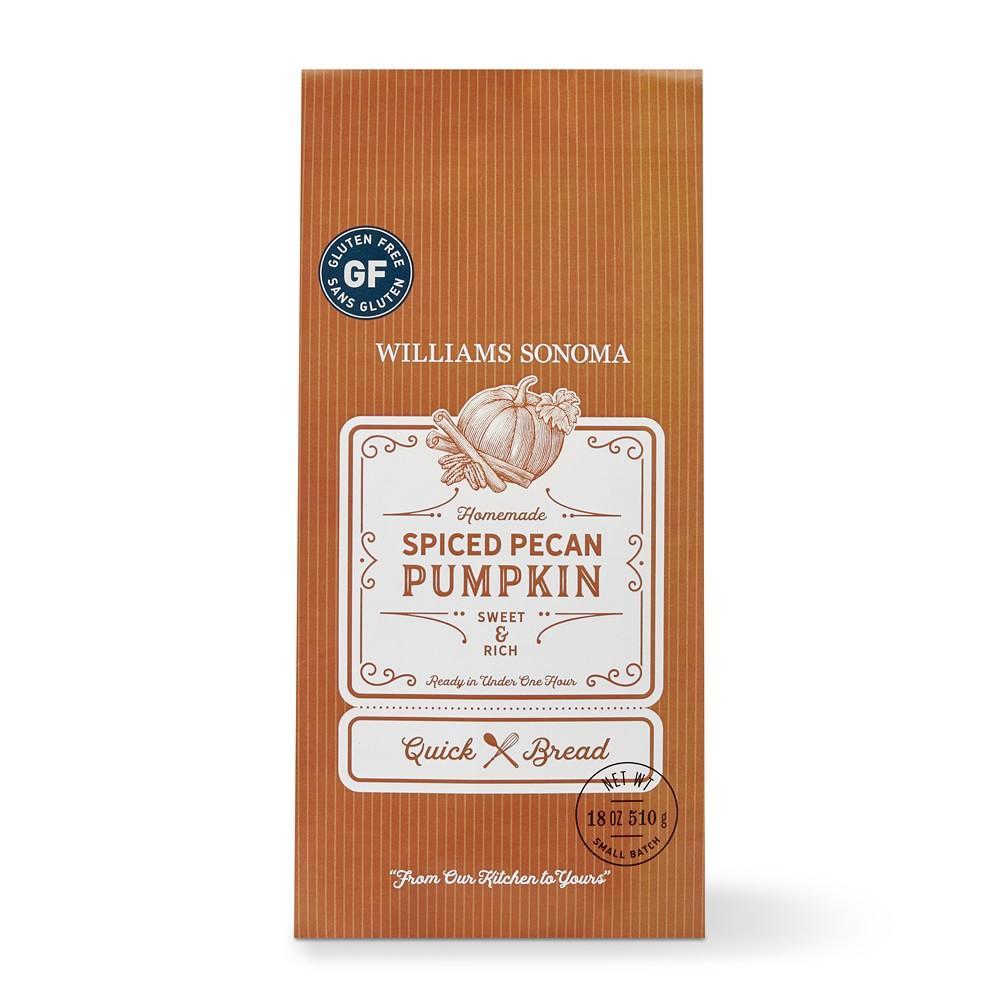 Williams Sonoma Gluten-Free Spiced Pecan Pumpkin Quick Bread Mix