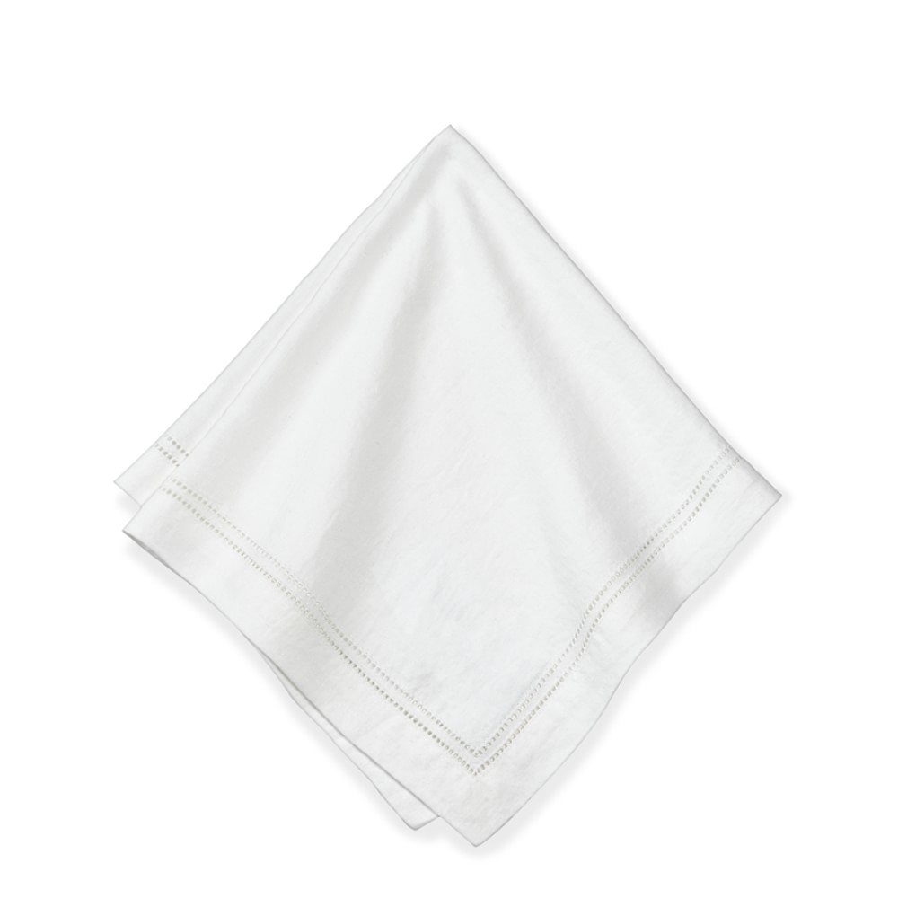 Linen Double Hemstitch Napkin