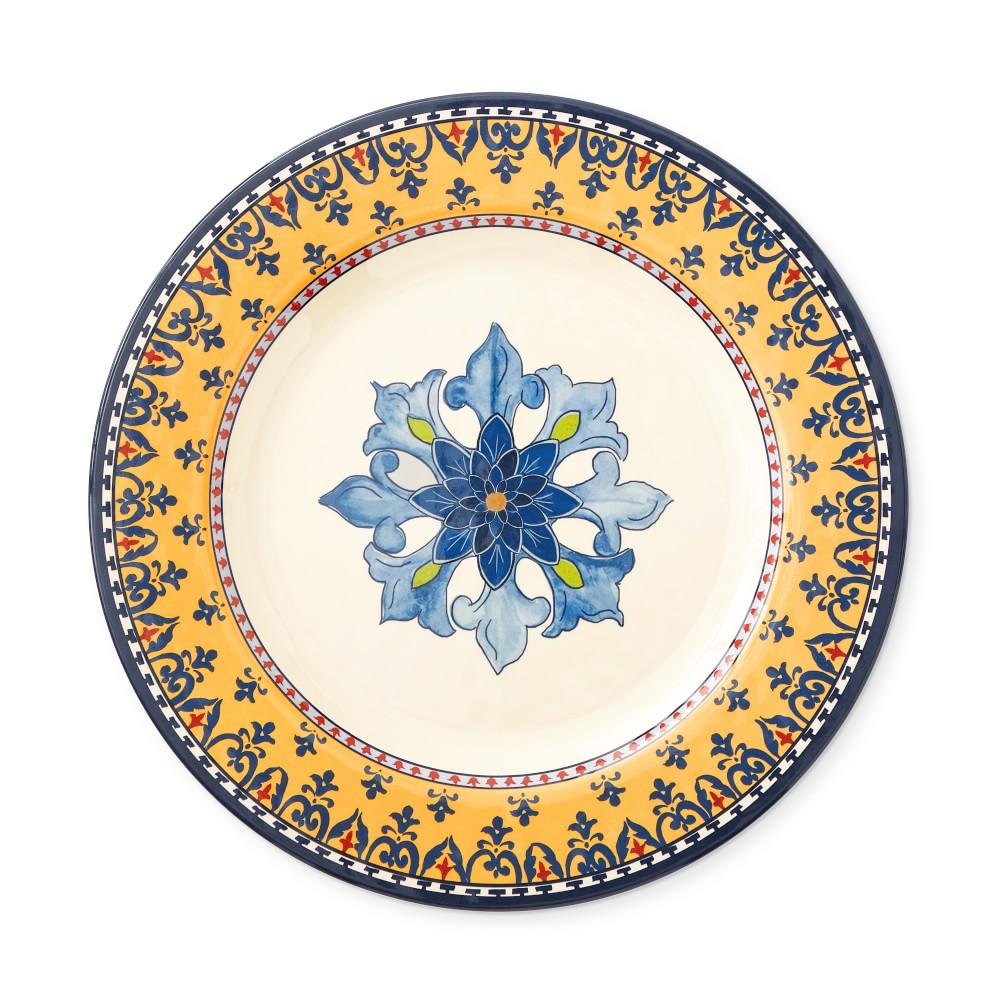 Sicily Melamine Dinner Plate