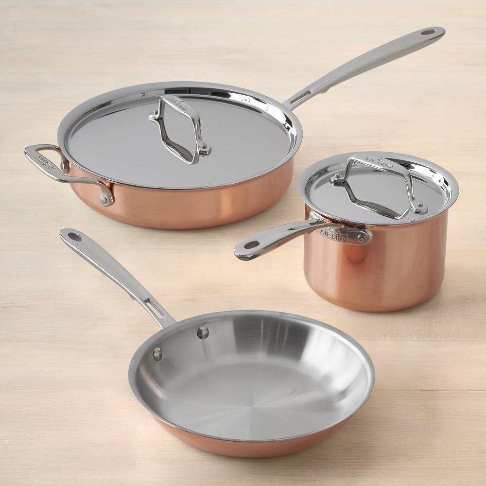 All-Clad C4 Copper 5-Piece Cookware Set