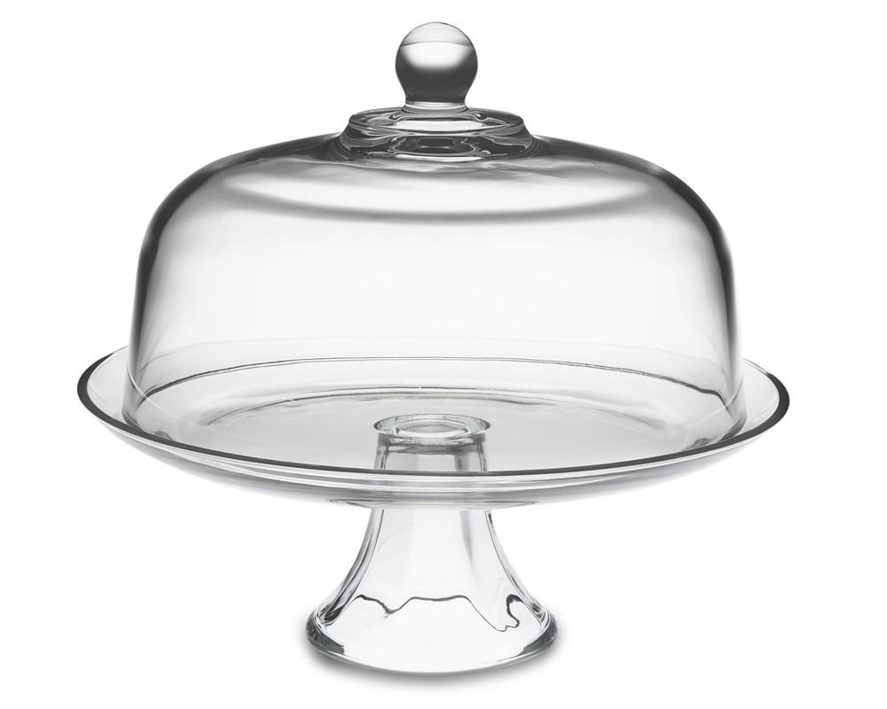 Crystal Cake Stand With Lid