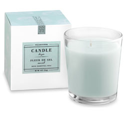 Williams Sonoma Essential Oils Boxed Candle, Fleur de Sel