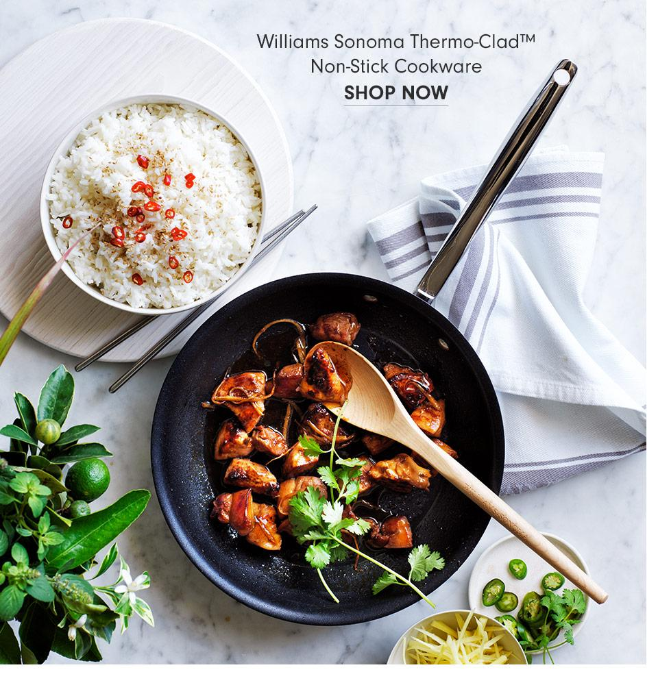 Williams Sonoma Thermo-Clad Non-Stick Cookware | Shop Now