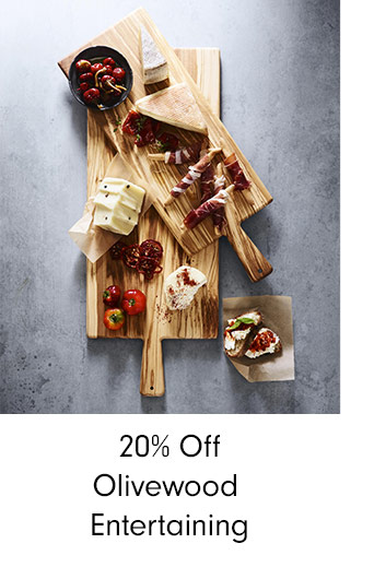 20% Off Olivewood Entertaining