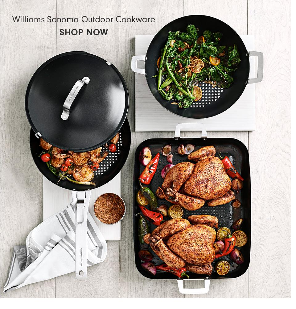 Williams Sonoma Outdoor Cookware | Shop Now