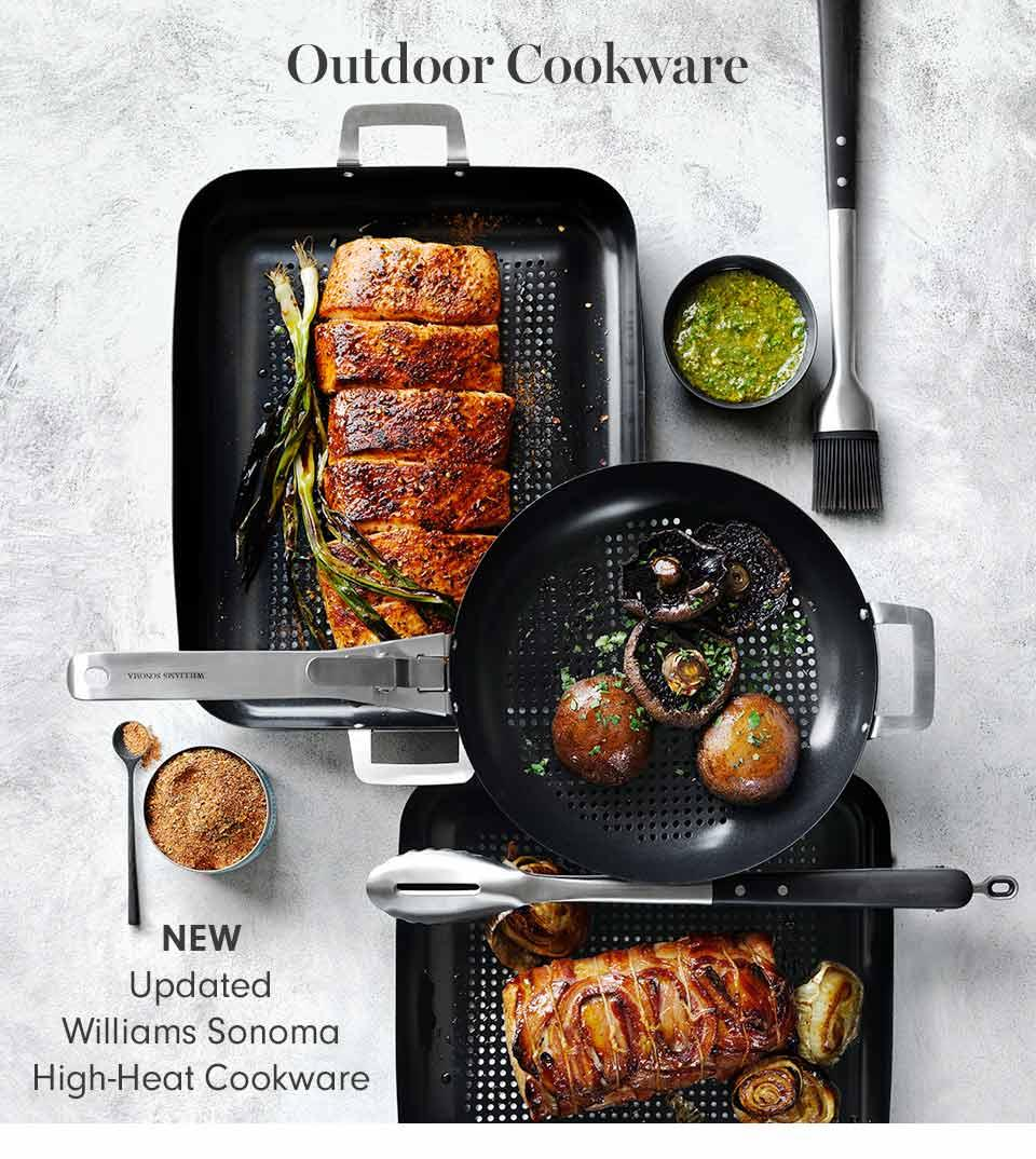 Outdoor Cookware | New Updated Williams Sonoma High-Heat Cookware