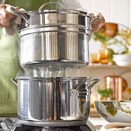 Williams Sonoma Stainless-Steel Rapid Boil Pot