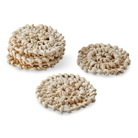 Abaca Coasters, Set of 6