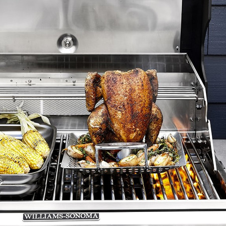 All-Clad Stainless Steel Outdoor Chicken Roasting Pan