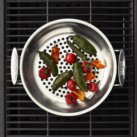All-Clad Stainless Steel Outdoor Frying Pan