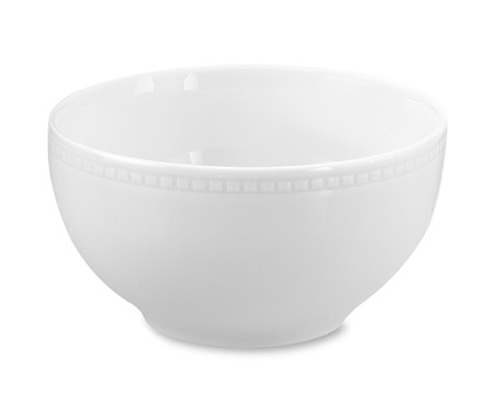Apilco Beaded Hemstitch Porcelain Cereal Bowl