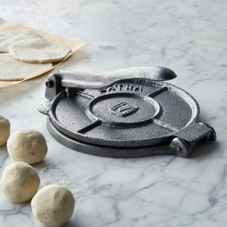Cast-Iron Tortilla Press