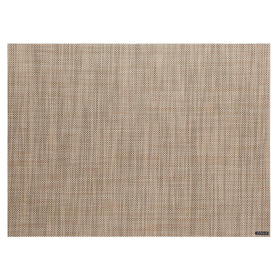 Chilewich Mini Basketweave Placemat, Linen