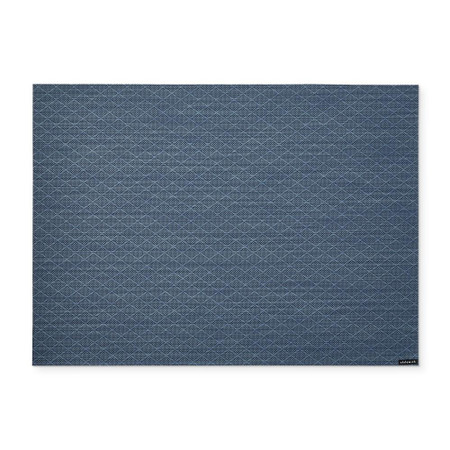 Chilewich Solitare Placemat, Marina Blue