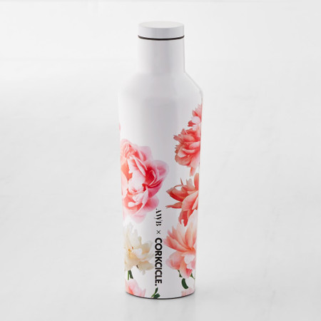 Corkcicle Insulated Floral Canteen, 473ml