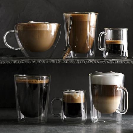 Double Wall Glass Latte Mug Williams Sonoma Au