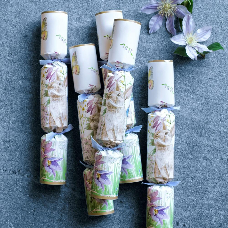 Floral Meadow Crackers, Set of 12