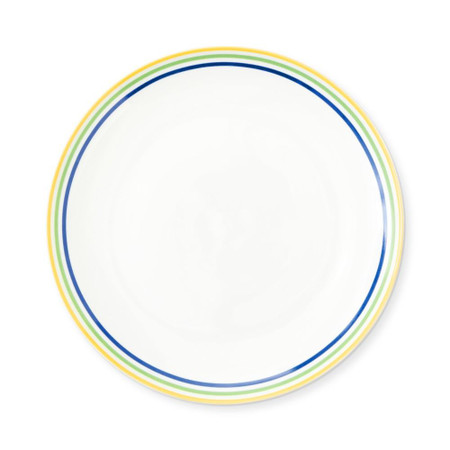 Flour Shop Rainbow Salad Plates, Set of 4