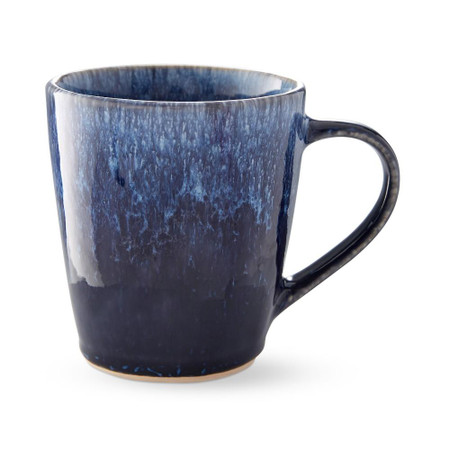 Reactive Glaze Mugs, Set of 4