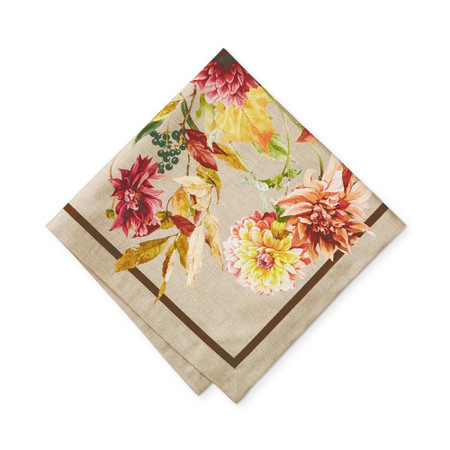 Harvest Bloom Napkins, Set of 4