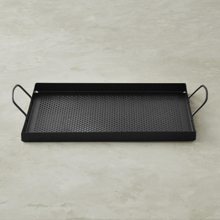 High-Heat Non-Stick Steel Rectangular Griddle